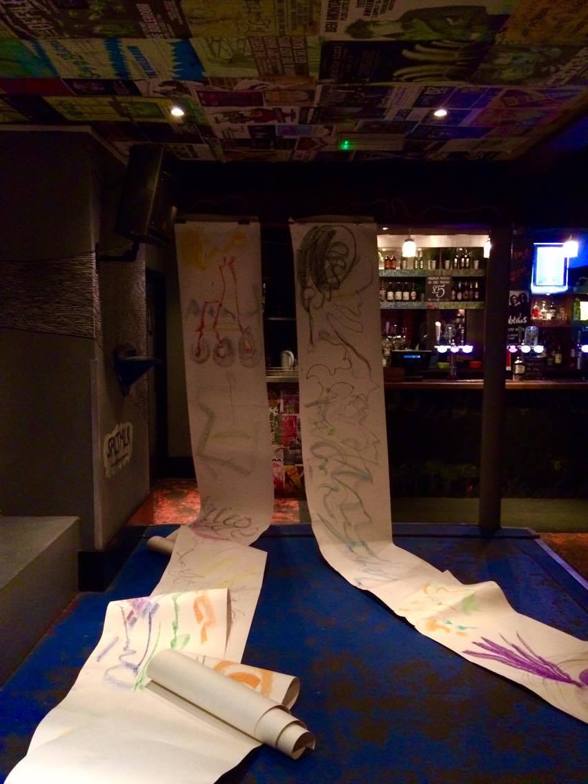 40 meters of art