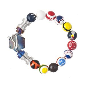 Icons of Formula 1 Necklace: clockwise from top: Graham and Damon Hill, Moss, Lauda, Mansell, Senna, Vettel, Schumacher, Prost, Alonso, Fangio, Hamilton, Gilles Vilneuve.