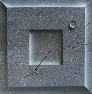 Stone slab airbrsuh texture
